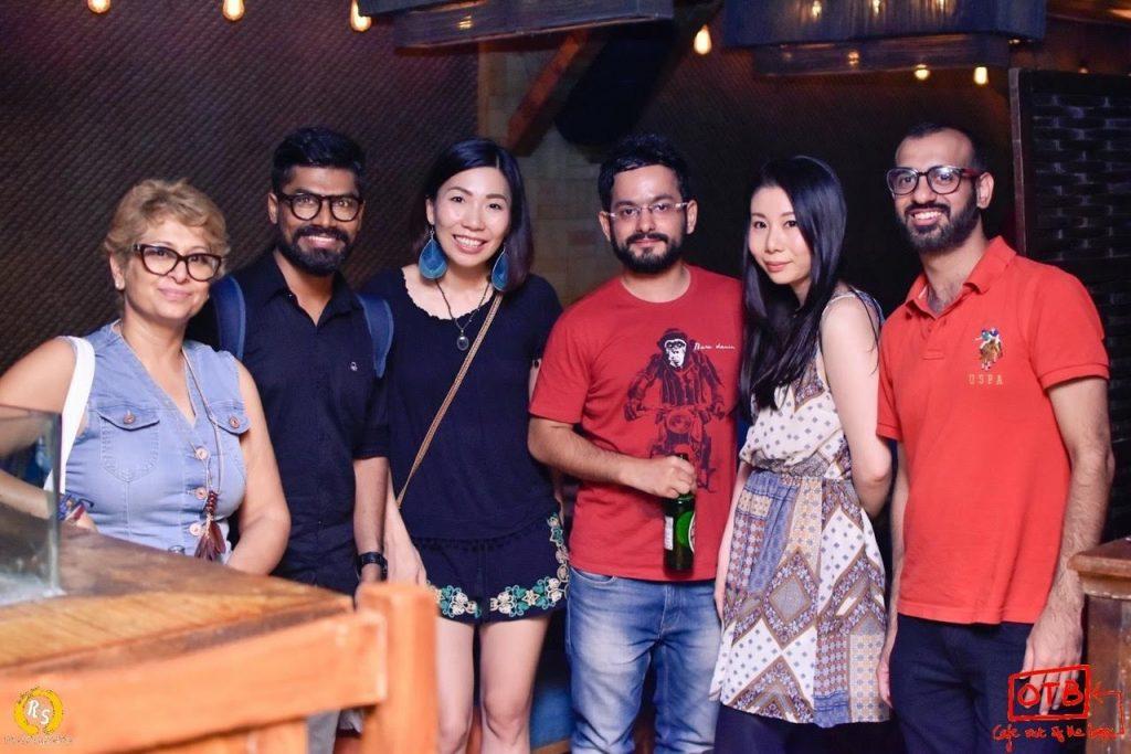 インド留学中の交流